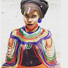 Xhosa accessory very beautiful Xhosa Attire, African Attire, African Wear, African Fashion Dresses, African Dress, African Love, African Design, African Beauty, African Traditional Wedding