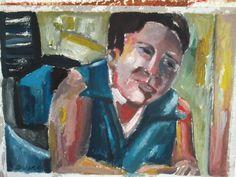 Oleo s/ Papel.2015   35 cm x 16 cm
