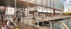 South Street Seaport, New York City, NY - Development Vision