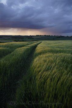 Approaching rain, England.