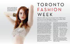 Fashion Magazine Layout | Flickr - Photo Sharing!