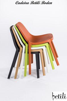 Cadeira Betili Boden Produzida 100% em Polipropileno  #moveis