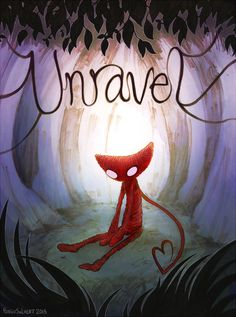 Yarny from Unravel by pengosolvent Best Games, Fun Games, Awesome Games, Night In The Wood, Little Games, Skullgirls, Playstation Games, Yandere Simulator, Video Game Art