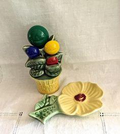 Vintage Kitchen Companions Spoon Rest by VintagePrairieHome