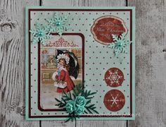 White Christmas card / Kerstkaart