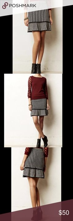 Anthropology Sparrow Knit Skirt Anthropology Sparrow Knit Skirt- NWT Anthropologie Skirts Midi