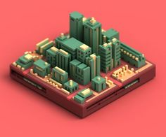 Gabriel Carvalho on Isometric Map, Isometric Design, Isometric Shapes, Game Concept, Concept Art, 3d Design, Game Design, Graphic Design, Low Poly 3d Models