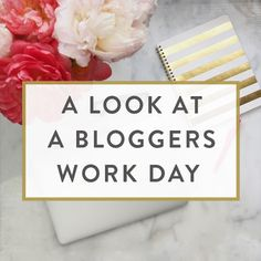 A Look At A Blogger's Work Day | It Starts With Coffee | Bloglovin'