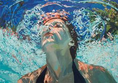 Beautiful oil paintings of water by Samantha French (via Featured Shops on Etsy)