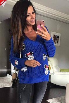 Damski sweterek - KLIK W FOTO