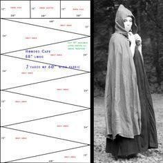 Pattern: Gored Cloak by ~eqos on deviantART