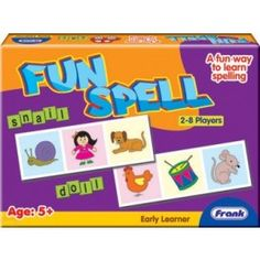 Fun Spell Picture Puzzle:Educational word game to help children name and spell objects by matching the pictures on their picture cards.