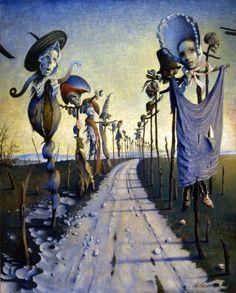 As oníricas pinturas de Claude Verlinde e seu realismo fantástico