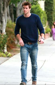 Liam Hemsworth. Marry me if my boyfriend and I of about 8 years don't.  pleeeease?!!! Haha.