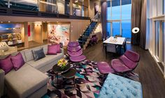 Royal Caribbiean..how about this suite while cruising www.travelalways.ca