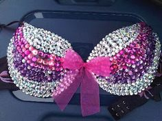Decorated Pink Bras | Bedazzle Your Bra | North Dakota State Fair