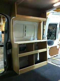 Ford Transit Connect camper Pkg DIY Campervan Van Cabinets | eBay