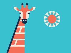 Giraffe by R A D I O