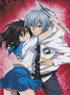 Yukina & Kojou   Strike the Blood