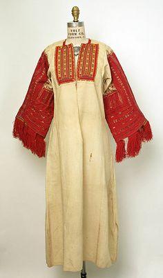 Shirt Date: 1800–1925 Culture: Macedonian
