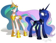 The power of the alicorn sisters