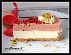 Rolada malinowa - Spice Things Up Vanilla Cake, Cheesecake, Cheesecakes, Cherry Cheesecake Shooters
