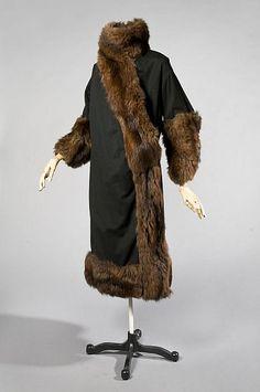 Coat, Callot Soeurs, c. 1918