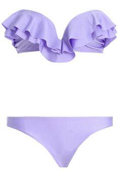 lilac bikini morado