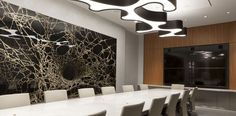 Commercial interior design by Perkins + Will
