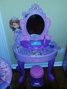Sofia the first toddler bed from walmart.com and canopy also from ...