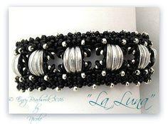 Beading pattern La Luna Bracelet in English by EnvyBeadwork
