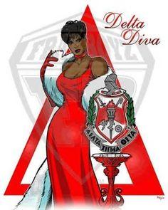 Delta Diva | Delta Sigma Theta Sorority, inc. | Pinterest