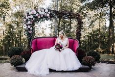 A Forest Fairytale Wedding at the Mohicans State Park - A PRINCESS INSPIRED BLOG #forestfairytalewedding #forestwedding #enchantedforestwedding #woodlandwedding