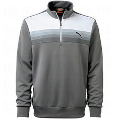 Just in time for Fall. Puma Mens Warm Cell Graphic 1/4 Zip Pullover