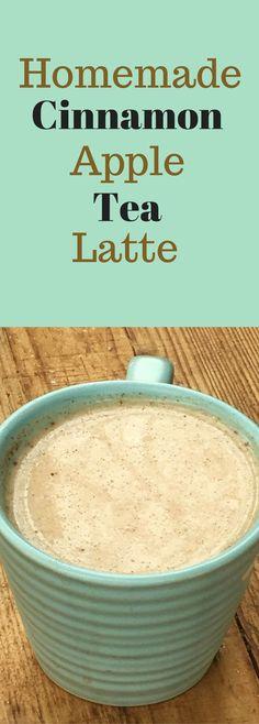 Cinnamon Apple Tea Latte