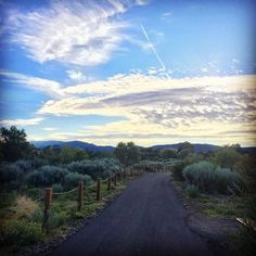New Post by @SimplySantaFeNM on #Instagram: Great capture of the Santa Fe Rail Trail by @ericaortiz this morning on her morning run! Thanks for sharing with us Erica!  This would be a great photo submission for the #SimplySantaFe Instagram Photography Exhibition! To learn more about the exhibition and to submit your photos go to our website at: http://ift.tt/1DD2fjR We'll also be sending out an email this weekend with complete details and information about our fantastic sponsors!