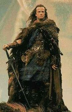 """""""Highlander :The Movie"""" Connor MacLeod (Christopher Lambert). I've watched this movie over and over. Heck, played Warhammer in college while this was playing in the background..."""