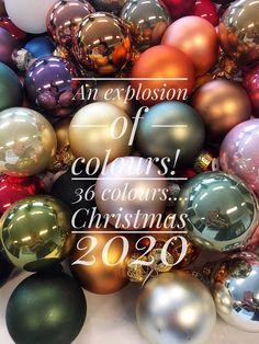 Ready for Christmas 2020?#kerstballen@glassballs#weihnachtskugeln#2020#Othmardecorations#Ootmarsum#TheNetherlands