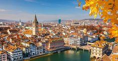 Roteiro de dois dias em Zurique | Suíça #Suíça #Zurique #europa #viagem