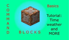 Minecraft- Command Blocks For Dummies- The Basic Guide 1.7.9