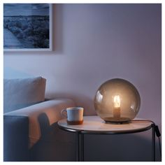 $25 FADO Table lamp with LED bulb - IKEA