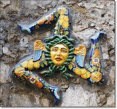 Taormina, Sicily - babe has this tattoo!