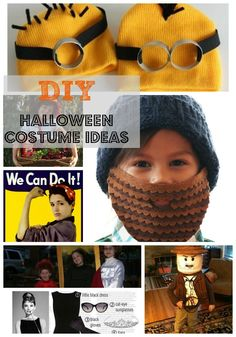 7 New DIY Halloween Costumes from MomAdvice.com.