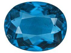 Afghanite-fluorescent Dark Blue .81ct 7x5.5mm Oval