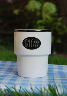 """Mug """"Gałgan"""" designed by Notoładnie Studio (www.notoladnie.pl) for MAMSAM."""