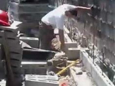 HGM YOUR DESIGN / HOME DESIGN - Men at work 2- Brick Workers on Deck