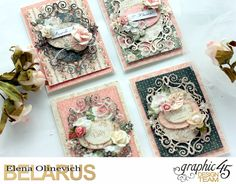 Feminine Cards, by Elena Olinevich, Portrait of a Lady, product by Graphic45, photo1a.jpg