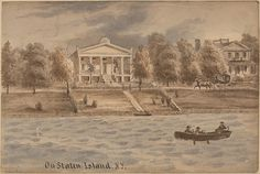 August Köllner (American, active 1838–72). Inner Bay, Staten Island, New York, ca. 1872. The Metropolitan Museum of Art, New York The Edward W. C. Arnold Collection of New York Prints, Maps and Pictures, Bequest of Edward W. C. Arnold, 1954 (54.90.77)