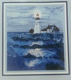 Ending today Cape Cod Light House Counted Cross Stitch  Not A Kit Instructions & Chart Only
