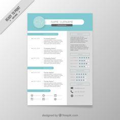 Portfolio Resume Template Cover Letter By Topbusinesstemplates